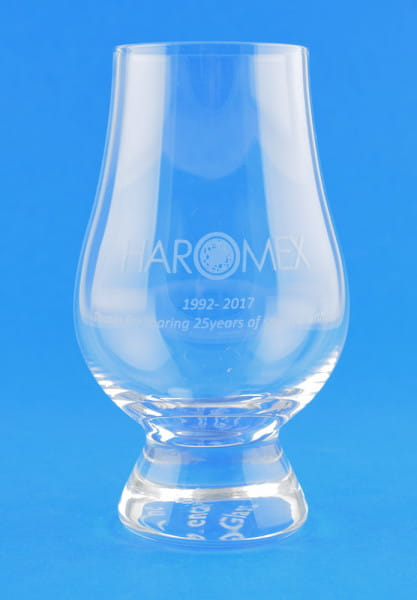 "25th Anniversary Haromex Nosing-Glas ""The Glencairn Glass"""
