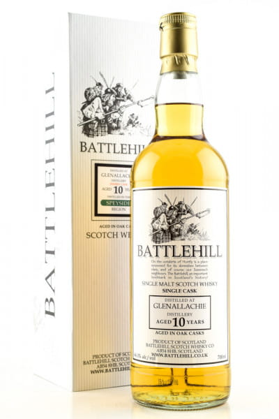 Glenallachie 10 Jahre Battlehill 46%vol. 0,7l