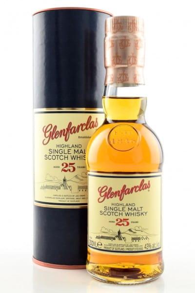 Glenfarclas 25 Jahre 43%vol. 0,2l