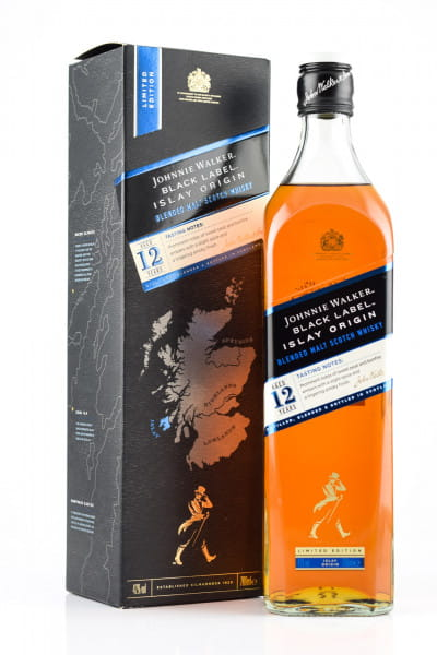 Johnnie Walker Black Label 12 Jahre Islay Origin 42%vol. 0,7l