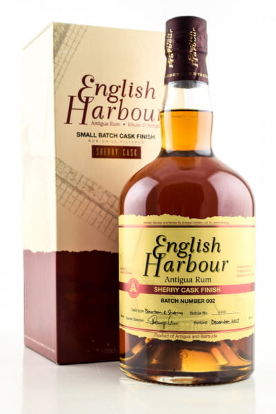 *English Harbour Sherry Cask Finish 46%vol. 0,7l - ohne Geschenkpackung