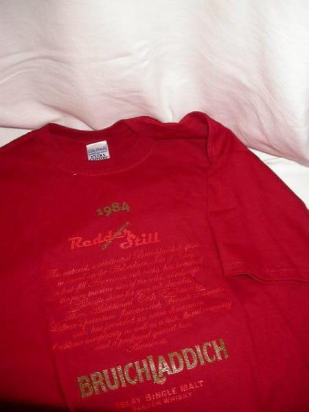 Bruichladdich Redder Still T-Shirt Gr. XL