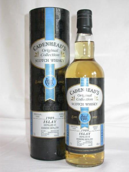Bowmore 1989/2002 Cadenhead 46%vol. 0,7l