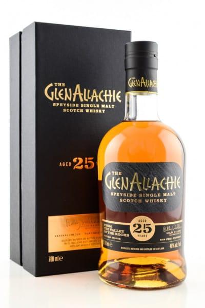 GlenAllachie 25 Jahre 48%vol. 0,7l