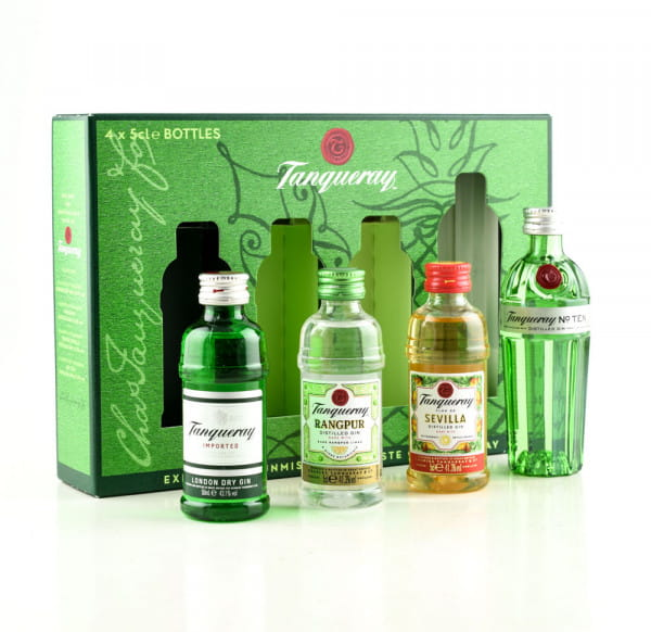 Tanqueray Tasting Collection 4x 0,05l