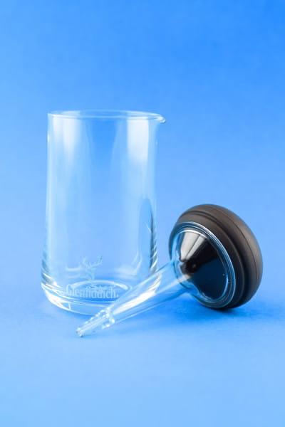 Glenfiddich - kleiner Glaskrug mit Pipette