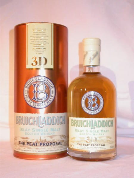 "Bruichladdich 3D ""The Peat Proposal"" 46%vol. 0,7l"