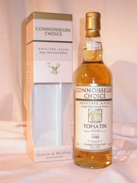 Tomatin 1988/2005 Gordon & MacPhail Connoisseurs Choice 43%vol. 0,7l
