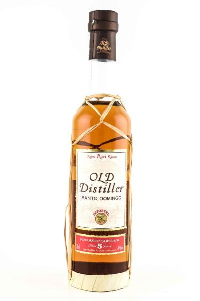 Old Distiller Rum - Santo Domingo 5 Jahre 40%vol. 0,7l