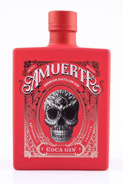 Amuerte Coca Gin Red Edition 43%vol. 0,7l