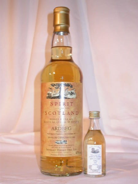 Ardbeg 96/05 Gordon & MacPhail Spirit of Scotland 47%vol. Sample 0,05l