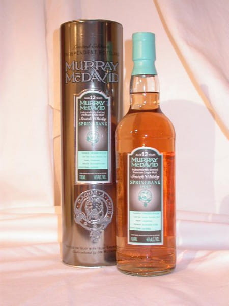 Springbank 1992/2005 Bourbon/Syrah Murray McDavid 46%vol. Sample 0,05l