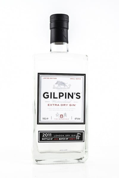 Gilpin's Westmorland Extra Dry Gin 47%vol. 0,7l