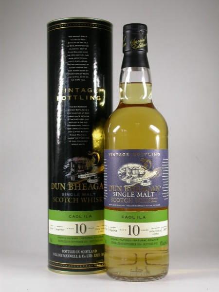 Caol Ila 10 Jahre 1996/2007 Dun Bheagan 43%vol. 0,7l