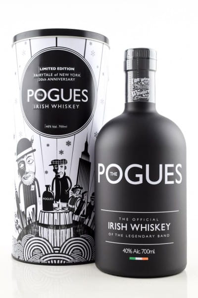 The Pogues Official Irish Whiskey 40%vol. 0,7l - Limited Edition Fairytale of New York