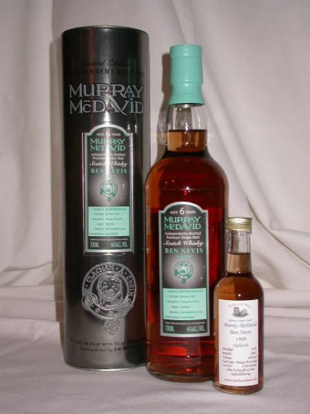 Ben Nevis 1999/2005 Bourbon/Port Murray McDavid 46%vol. Sample 0,05l