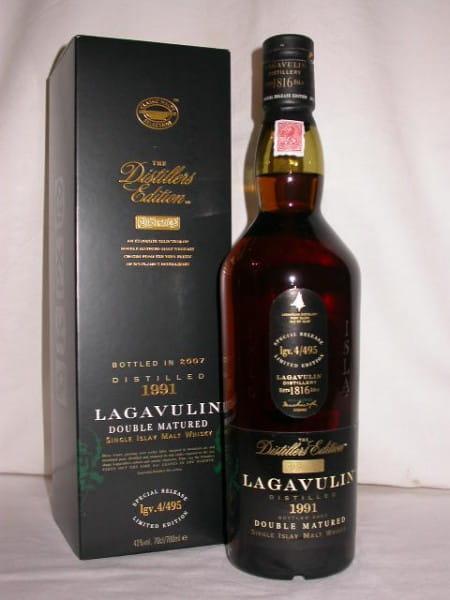 Lagavulin 1991/2007 Distillers Edition 43%vol. 0,7l