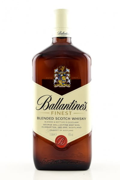 Ballantine's Finest Blended Scotch Whisky 40%vol. 1,0l