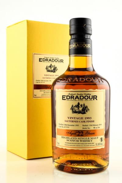 Edradour 22 Jahre 1993/2016 Sauternes Cask Finish 51,8%vol. 0,7l