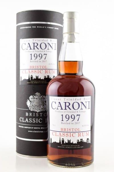 Caroni 1997/2017 Bristol Classic Rum 61,5%vol. 0,7l