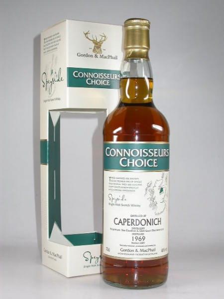 Caperdonich 1969/2009 Gordon & MacPhail Connoisseurs Ch. 46%vol. 0,7l