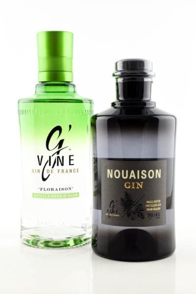 G' Vine Doppelpack Nouaison & Floraison Gin 45/40%vol. 2x 0,7l