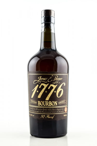 1776 Straight Bourbon James E. Pepper 46%vol. 0,7l