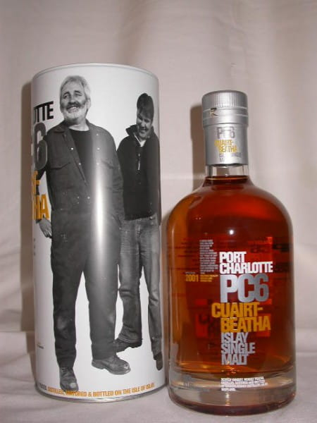 Port Charlotte PC6 Distillery Managers 61,6%vol. 0,7l