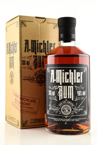A. Michler Jamaican Dark Rum 40%vol. 0,7l