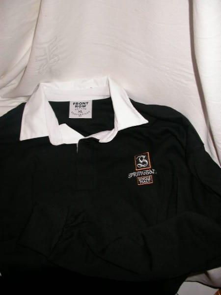 Springbank-Rugby-Shirt Gr. XL - EINZELSTÜCK