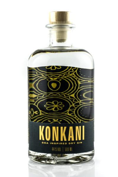 Konkani Goa Inspired Dry Gin 44%vol. 0,5l