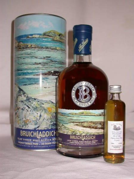 Bruichladdich Legacy Series Five 33 Jahre 40,9%vol. Sample 0,05l