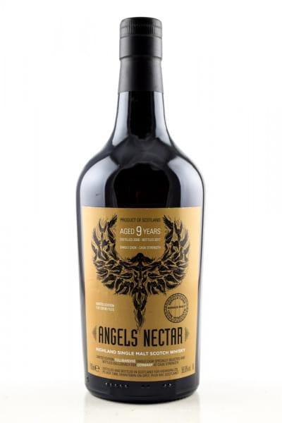 Angels' Nectar 9 Jahre Single Cask Strength 56,6%vol. 0,7l