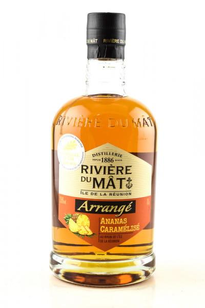 Rivière Du Mât Arrangé Ananas Caramélisé 35%vol. 0,7l