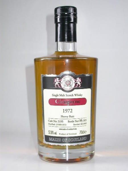 Glengoyne 1972/2009 Sherry Butt Malts of Scotland 52,8%vol. 0,7l