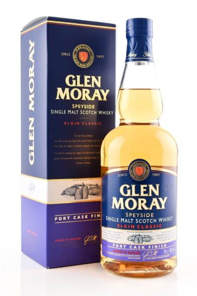 Glen Moray Port Cask Finish 40%vol. 0,7l