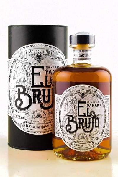 El Brujo Premium Panama Blended Rum 40%vol. 0,7l