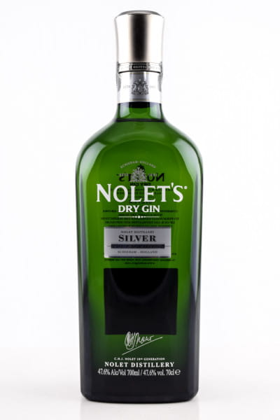 Nolet's Silver Dry Gin 47,6%vol. 0,5l