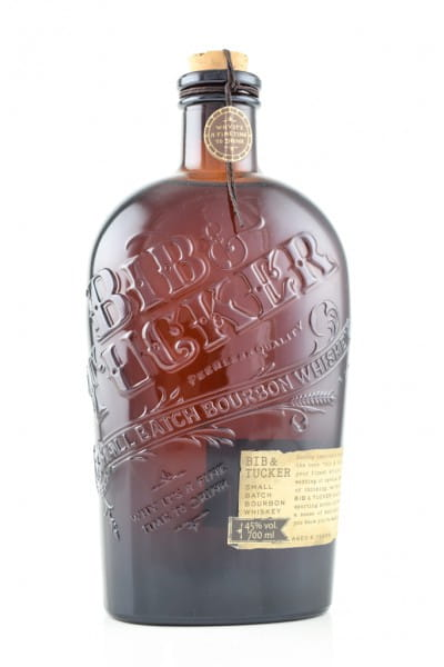 BIB & TUCKER Small Batch Bourbon 46%vol. 0,7l