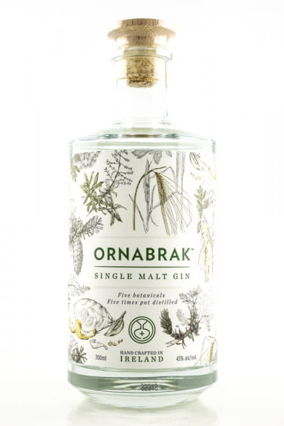 ORNABRAK Single Malt Gin 43%vol. 0,7l