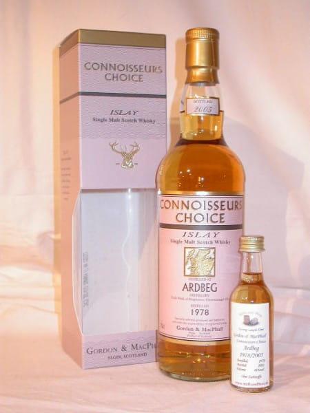 Ardbeg 78/05 Gordon & MacPhail Connoisseurs Ch. 43%vol. Sample
