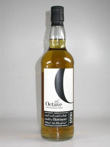 Bowmore 1998/2010 Octave-Cask f. Malts and More Duncan Taylor 46,3%vol. 0,7l