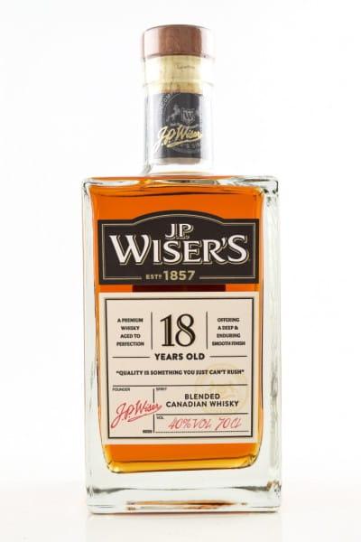 J.P. Wiser's 18 Jahre 40%vol. 0,7l