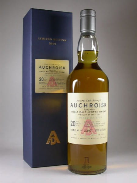 Auchroisk 20 Jahre Bottled 2010 58,1%vol. 0,7l