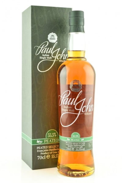 Paul John Peated Select Cask 55,5%vol. 0,7l