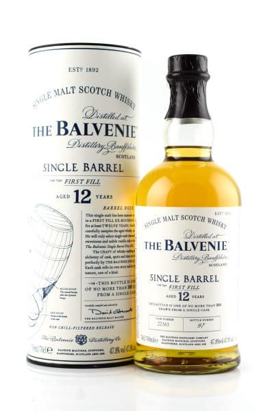 Balvenie 12 Jahre Single Barrel #12696 47,8%vol. 0,7l