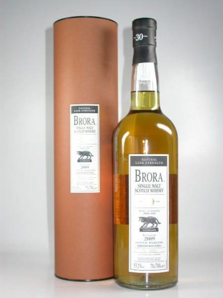 Brora 30 Jahre Bottled 2009 Natural Cask Strength 53,2%vol. 0,7l