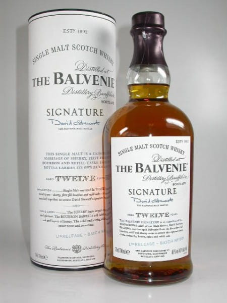 Balvenie Signature 12 Jahre Batch-No. 001 40%vol. 0,7l