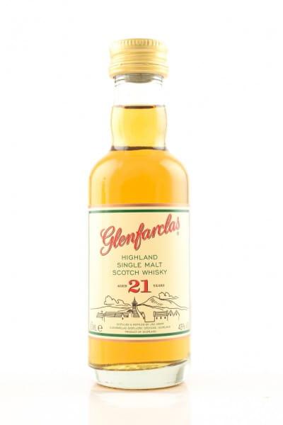 Glenfarclas 21 Jahre 43%vol. 0,05l
