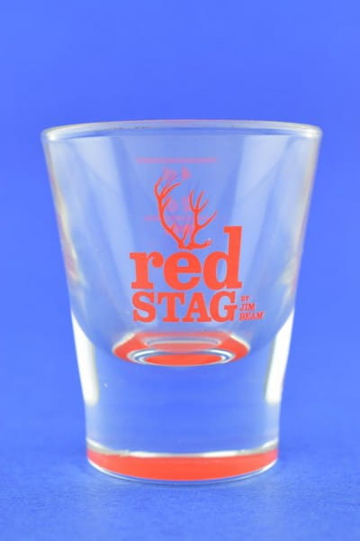 Jim Beam red Stag - Shot Glas